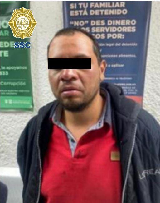 Tres personas posiblemente relacionadas con el asalto y agresiones a un ciudadano en Xochimilco, fueron detenidas por policías de la SSC