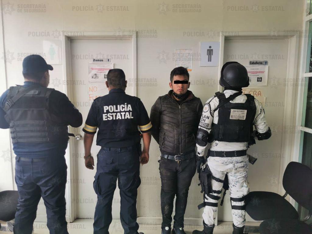 Recupera Secretaría de Seguridad camioneta momentos después de haber sido reportada como robada