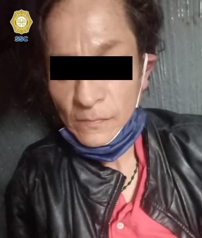 En posesión de 20 dosis de aparente cocaína, fue detenido un hombre por efectivos de la SSC de la Ciudad de México en las calles de la alcaldía Cuauhtémoc