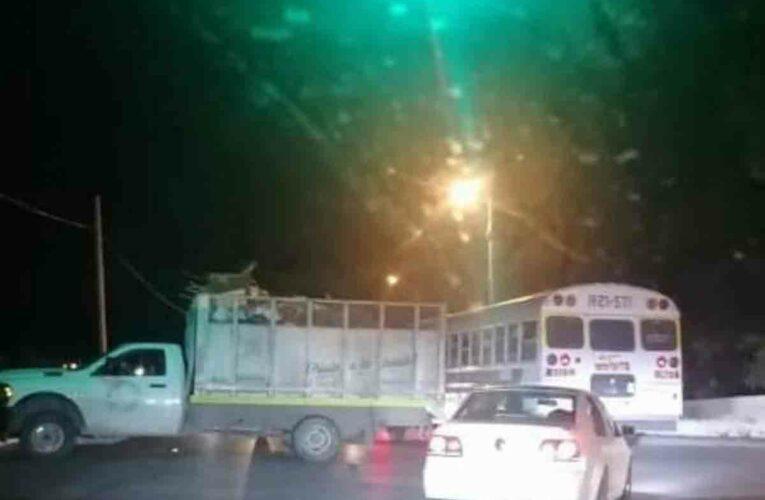 (Video) Balaceras, quemas de vehículos y bloqueos en Matamoros, Tamaulipas