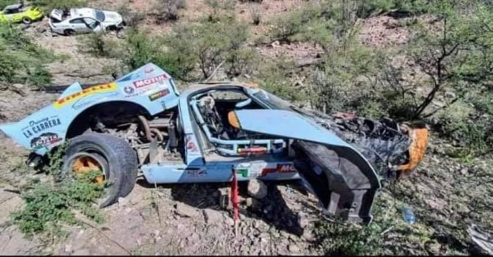Carrera Panamericana, ¡Fuerte accidente!