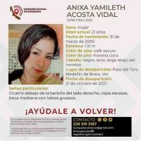 Aparece sin vida joven reportada como desaparecida en Veracruz, también se busca a menor de 12 años