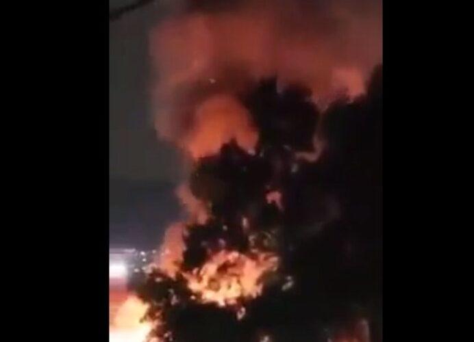 Se registra explosión en Tultitlán #EdoMéx (Video)