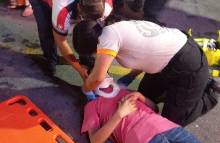Cae juego en Expo Feria Guadalupe, hay heridos