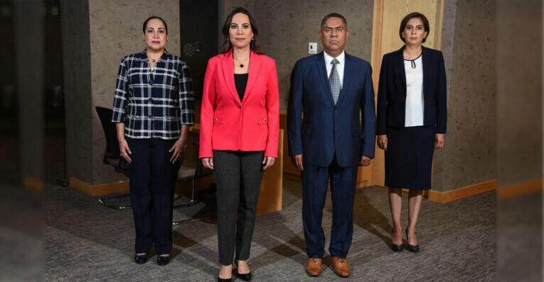 Lorena Alfaro García presentó a tres nuevos integrantes de su gabinete