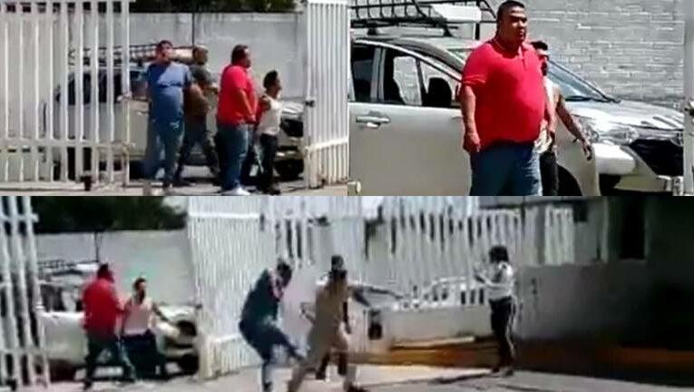 (Video) Hombres armados atacaron a personal de la CFE en EdoMéx
