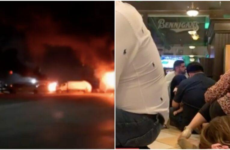 Se registran enfrentamientos en Matamoros, Tamaulipas