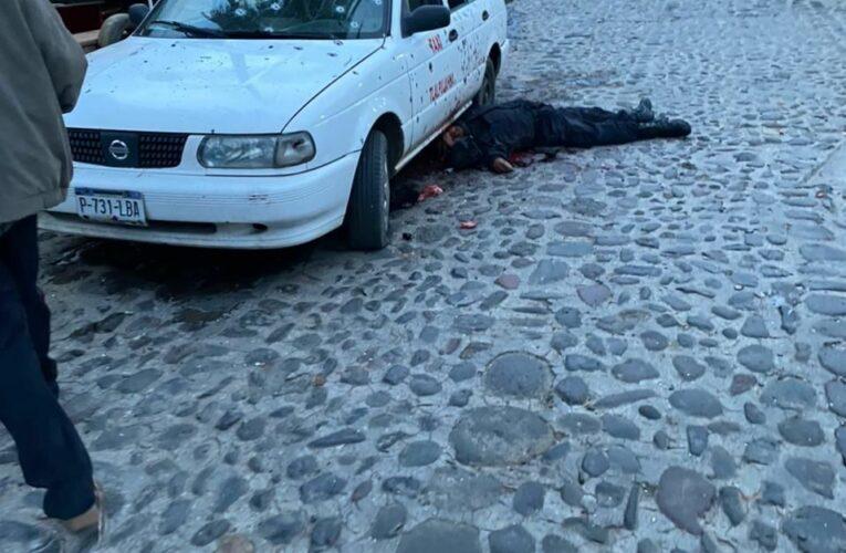 Base de policía de tránsito es atacada en Tlalpujahua